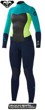 Roxy Syncro Wetsuit Women's 3/2mm GBS (Sealed Seams) Wetsuit Blue/Teal/Lemon