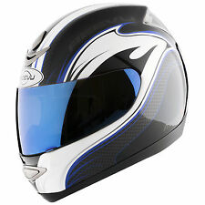Reevu MSX1-R Blue graphic new for 2014 Motorcycle Helmets