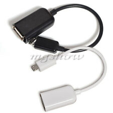 Micro USB Male To Female Converter OTG Host Cable Adapter For Mobile Smart Phone
