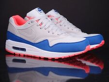 NIKE Air Max 1 Essential light ash hyper cobalt mango New Running 537384 004