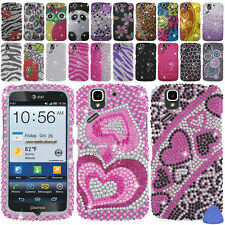 Hard Protector BLING Case Cover For Pantech Flex P8010 Phone, Pink Leopard +Tool