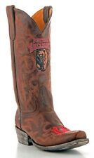 Gameday Boots Mens College Team Montana Grizzlies Brass MTS-M059-1