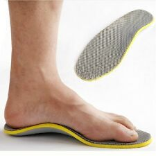 Orthotic Foot High Arch Support Insoles Flat Feet  Cuttable Pad UK 6.5-11.5