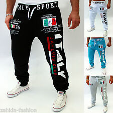 Men's Women's Jogging Long Trousers Pants Joggers Fitness Shorts Italy Italia