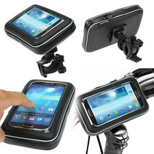 Waterproof Bike Bicycle Handlebar Mount Holder Case For iPhone iPod Cell phone