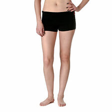 Active Basic Dance or Yoga Fold Down Hot Shorts