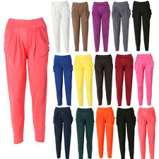 Womens Fashion Casual Harem Baggy Dance Sport Sweat Pants Trousers Slacks
