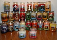 OLD VIRGINIA TRIPLE FRAGRANCE JAR CANDLE CHOICE 35 ASSORTED 16 OR 26 oz WOODWICK