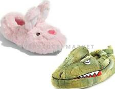 NEW STRIDE RITE PLUSH CRITTER SLIPPERS! VARIETY OF STYLES & SIZES CUTE & COMFY!