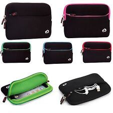 "7"" 8""Universal Soft Washable Safe Carrying Sleeve Cover Case Pouch for Tablets"