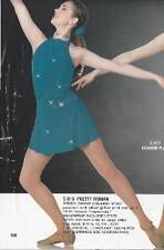 """NEW! LOVELY """"PRETTY WOMAN"""" dance lyrical COSTUME ~ 2 AVAILABLE ~ MEDIUM ADULT"""