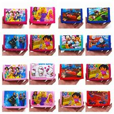 Frozen,Snow whtie,McQueen,Kitty,Dora,Spider Man Childrens wallets(58 colours)
