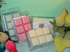 4 Six packs Clamshell Scented Tart Melts Handmade for all warmers S