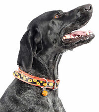 ANCOL DOG COLLARS HALLOWEEN SPECIALS / TRICK or TREAT PUMPKIN DESIGNS in 2 SIZES