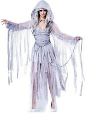 Ghost of Christmas Past Haunting Beauty Halloween Ghost Costume Adult Women