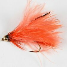Gold Head Marabou Trout Fly Fishing Flies lures streamers Size 10- Dragonflies