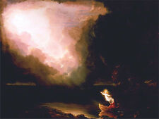Christian Fine Art Print The Voyage of Life Old Age Thomas Cole Painting Repro