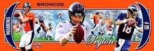 NFL Football Peyton Manning Quarterback Denver Broncos Photoramic #1008