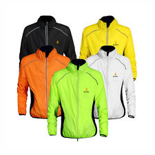 Cycling Cyclist Breathable Long Sleeve Jersey Jacket Wind Rain Coat Waterproof