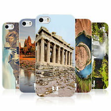 HEAD CASE FAMOUS LANDMARKS TPU REAR CASE COVER FOR APPLE iPHONE 5S