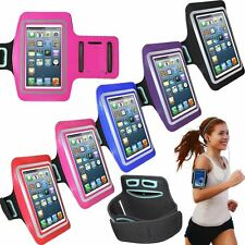UK Sports Jogging Running Gym Armband Holder Case Cover For Apple Samsung Models