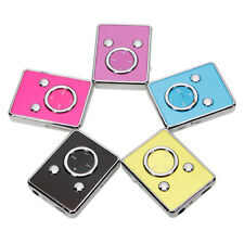 Multi-colors Cute Panda Face Clip-on TF Card MP3 Music Player Up to 8GB Memory