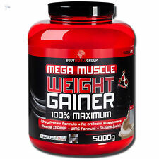 Weight Gainer 5kg Carbohydrates + Egg White Powder W/ Whey Prot. + Soya Isolate
