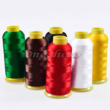5000m Cones Bobbin Thread Polyester Filament for Embroidery Machine 6 Color New
