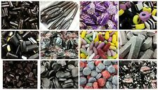 ASSORTED LICQUORICE SWEETS (LOW POSTAGE, WE POST UP TO 600g FOR ONLY £1.30!)