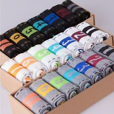 New Men's Lot Fashion Casual Dress Socks Cotton Ankle Week Crew Socks 7 Pairs