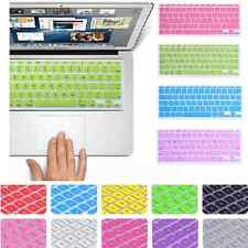 Silicone Keyboard Cover protector Skin for Apple Macbook Pro MAC 13 15 17 Air 13