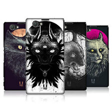 HEAD CASE CATS OF GOTH SNAP-ON BACK COVER FOR SONY XPERIA Z1 COMPACT D5503