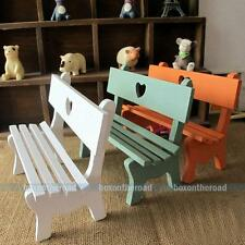 Miniature Wooden Chairs Model Theme Wedding Party Gardening Home Decorations