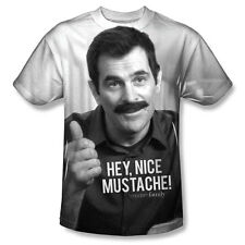 Modern Family Sitcom TV Series Philism Nice Mustache Youth Front Print T-Shirt