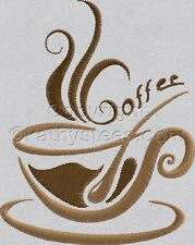 Coffee Time - Machine Embroidery Designs Set of 10 On CD