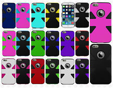 For Apple iPhone 6 Plus 5.5 IMPACT TUFF HYBRID Protector Case Skin Phone Cover