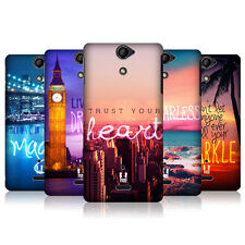 HEAD CASE WORDS TO LIVE BY SERIES 4 PROTECTIVE COVER FOR SONY XPERIA V LT25i