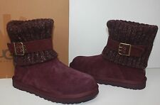 Ugg Cambridge women's boots Port Burgundy New In Box
