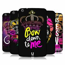 HEAD CASE CROWN REBEL SNAP-ON BACK COVER FOR SAMSUNG GALAXY TAB 3 8.0 T315