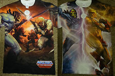 He Man Skeletor Battle Strike Masters of the Universe Sublimation Front Shirt