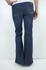 """NEW Frankie b 3"""" Super Low Rise Bell Studded Pocket Flare Stretch Jeans Mojave"""