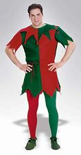 Christmas Santa Red Green Elf Tights Holiday Costume Accessory STD PLUS