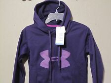 Under Armour Storm Hoodie Fleece Big Logo Printed 1239243 Purple 518 XS-XL nwt