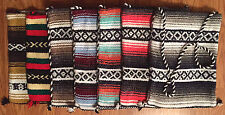 SIXTIES MEXICAN BLANKET TOTE BAG 50%POLYESTER/40%ACRYLIC/10%COTTON - ASST COLORS
