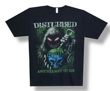 Disturbed-Toxic Globe-Another Way To Die-Black T-shirt
