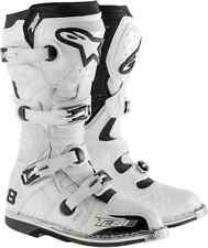 Alpinestars Tech 8 RS white off-road vented boots