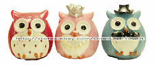SIMPLY LOVELY Flavored Lip Gloss OWL SHAPED Boy+Girl NEW (Uncarded) *YOU CHOOSE*