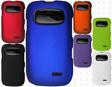 AT&T GoPhone ZTE Z432 Rubberized HARD Protector Case Phone Cover +Screen Guard
