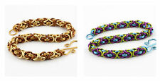 3-COLOR BYZANTINE BRACELET KIT-Chain Maille/Mail Jump Ring Jewelry Making Craft