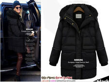 2014 Winter Women's Long Down Jacket Lamb's 90% Wool Coat Thick White Duck Down